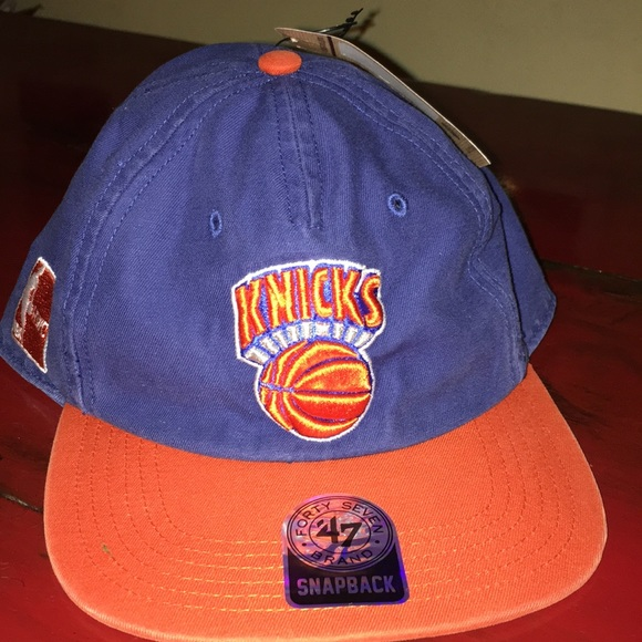 8a23640b2aae5 Knicks SnapBack 47 Brand